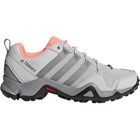 adidas TERREX AX2R Shoes Women Grey Two/Grey Three/Chalk Coral